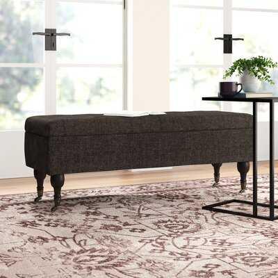 Coleford Tufted Upholstered Storage Bench - Wayfair