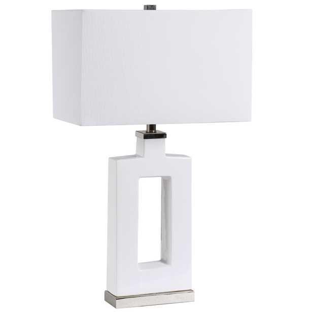 Entry Modern White Table Lamp - Hudsonhill Foundry