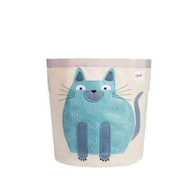 Cat Storage Fabric Bin - Wayfair