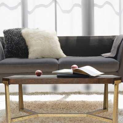 Berkman Cross Legs Coffee Table - Wayfair