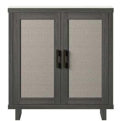 Xander 2 Door Accent Cabinet - Wayfair