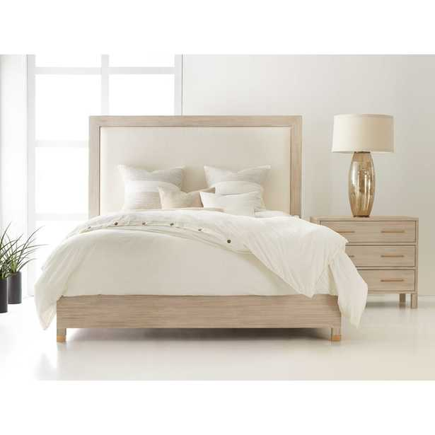 Modern History Home Maui Upholstered Standard Bed Size: Queen - Perigold