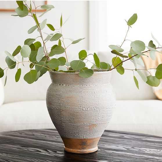 Rustic Vase, Wide - West Elm
