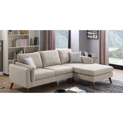 """Bicknell 93"""" Right Hand Facing Sectional - Wayfair"""