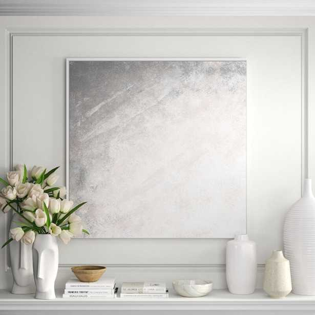 JBass Grand Gallery Collection 'Bm Rework 2' Framed Graphic Art Print on Canvas - Perigold