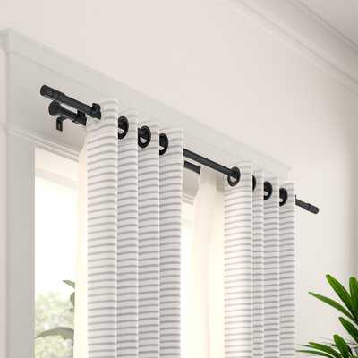 Chesson Double Curtain Rod and Hardware Set - AllModern