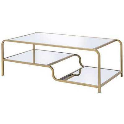 Elvan Coffee Table with Storage - Wayfair
