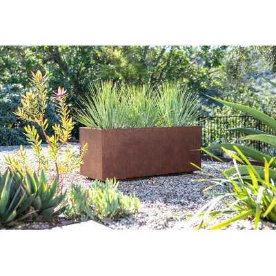 Metallic Series Corten Steel Planter Box - AllModern