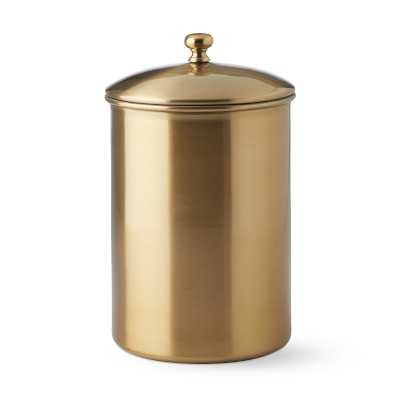 Gold Canister, Small - Williams Sonoma
