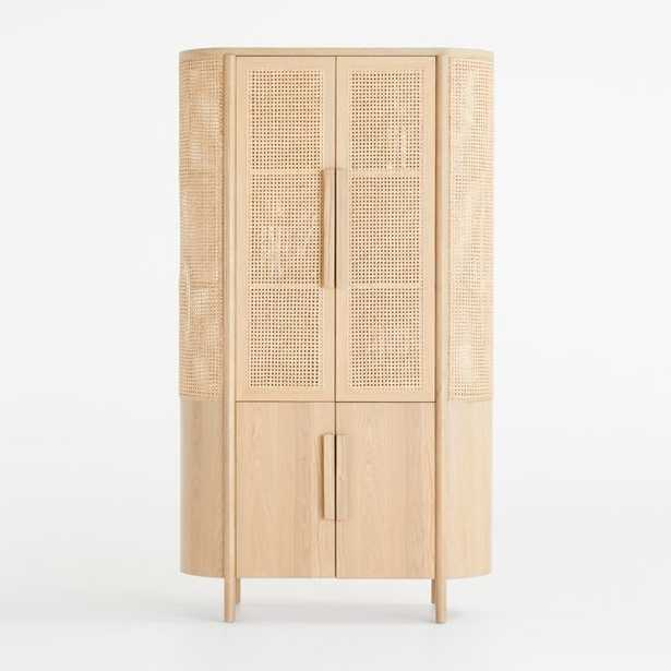 Fields Natural Storage Cabinet - Crate and Barrel