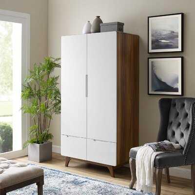 Griffis Origin Wood Wardrobe Armoire - Wayfair