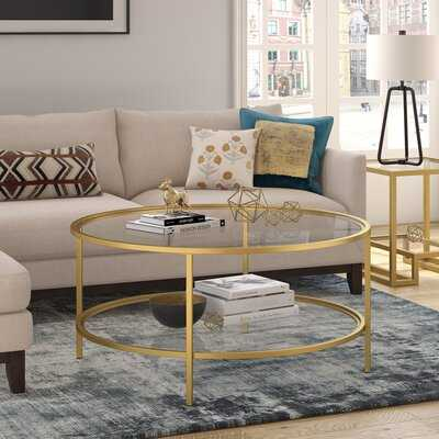 Magdalen Coffee Table with Storage - Wayfair
