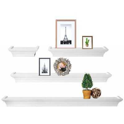Yvaine 4 Piece Floating Shelf Set - Wayfair