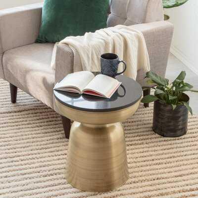 Barraza Pedestal End Table - Wayfair