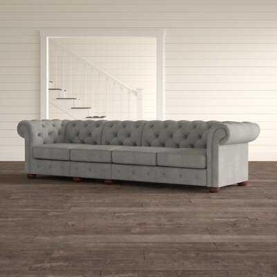 "Satler Chesterfield 117.6"" Rolled Arm Sofa - Birch Lane"