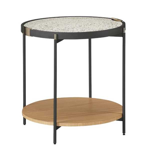 Bobby Berk Home Pedestal End Table with Storage - Perigold