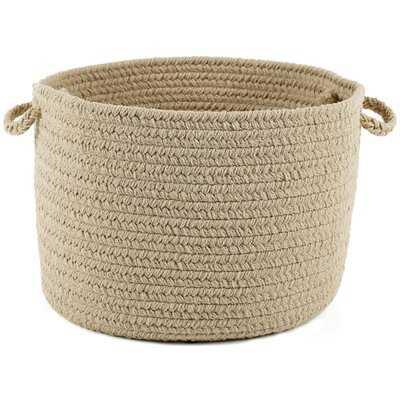 Misha Solid Basket - Wayfair
