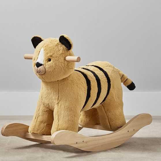 Nursery Rocker Tiger, Horseradish - West Elm