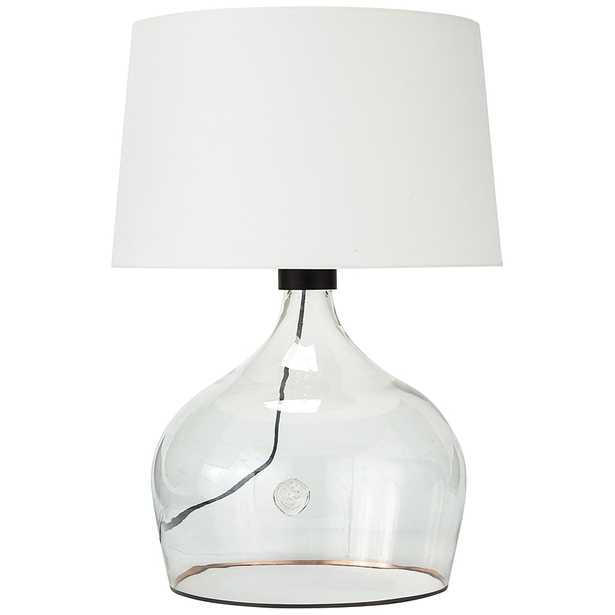 Regina Andrew Design Demi John Clear Glass Large Table Lamp - Style # 96M60 - Lamps Plus