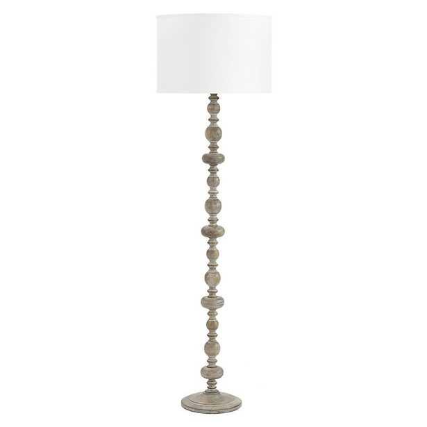 Peyton Wood Floor Lamp   - Ballard Designs - Ballard Designs