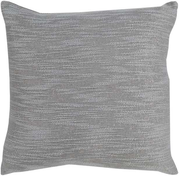 """Purist, 20"""" Pillow with Down Insert - Neva Home"""