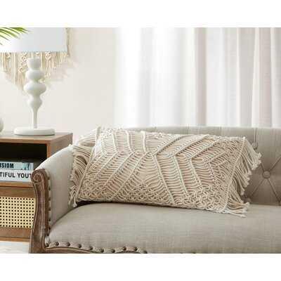 MHF Erica Hand Crafted Crochet Throw Pillow - Wayfair