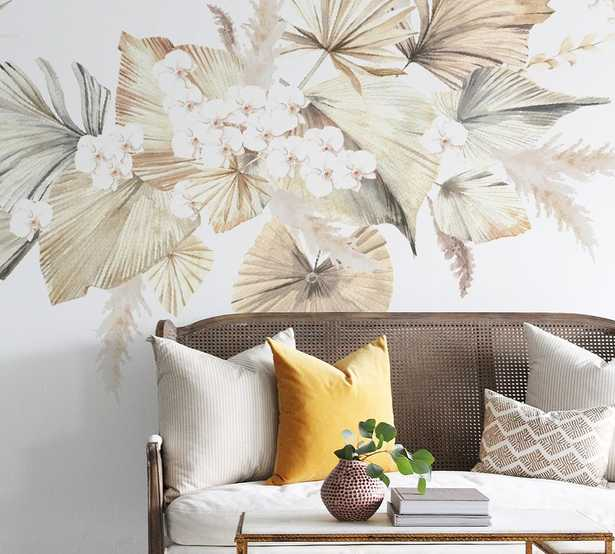 Bohemian Palms Wall Decals - Pottery Barn