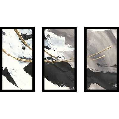 Gilded Arcs I - 3 Piece Picture Frame Photograph Print Set on Plastic/Acrylic - Wayfair