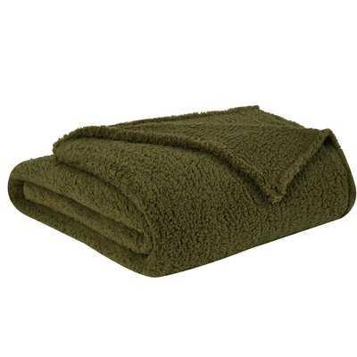 Abner Sherpa Blanket - AllModern
