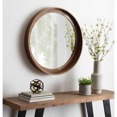 Alea Rustic with Shelves Accent Mirror - Wayfair