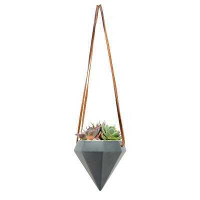 Erickson Diamond Ceramic Hanging Planter - AllModern