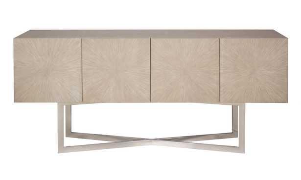 Zena Nickel Buffet - Light Grey - Arlo Home - Arlo Home