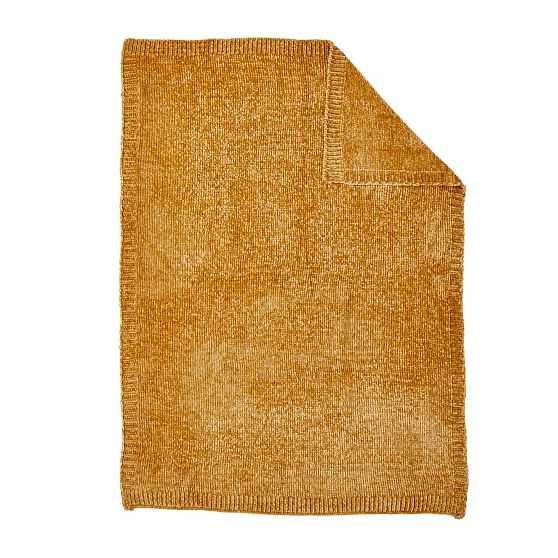 Luxe Chenille Baby Stroller Blanket, Golden Oak - West Elm