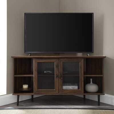 "Gerardo Corner TV Stand for TVs up to 55"" - Wayfair"