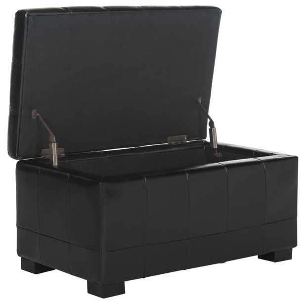 Small Manhattan Storage Bench - Black - Arlo Home - Arlo Home