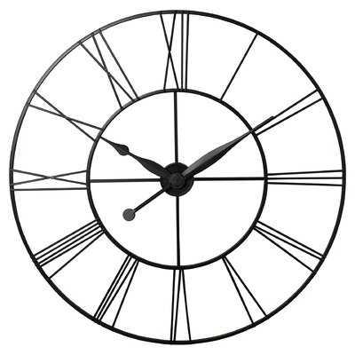 "Oversized 45"" Wall Clock - AllModern"