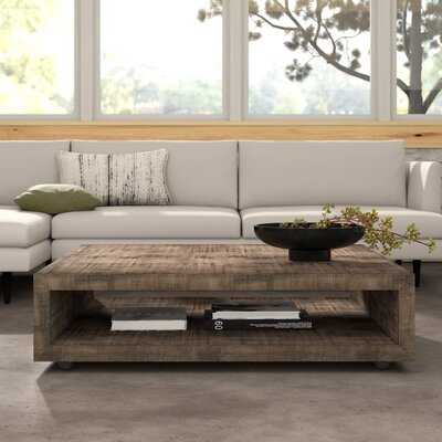 Eamon Square Coffee Table with Casters - AllModern