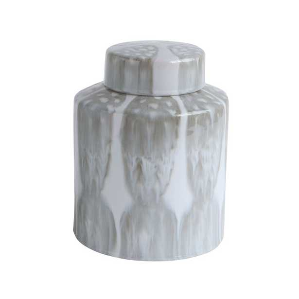 "Bloomingville Ginger Decorative Jar Size: 10.25"" H x 8"" W x 8"" D - Perigold"