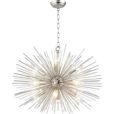 Baskin 12 - Light Sputnik Sphere Chandelier - Wayfair