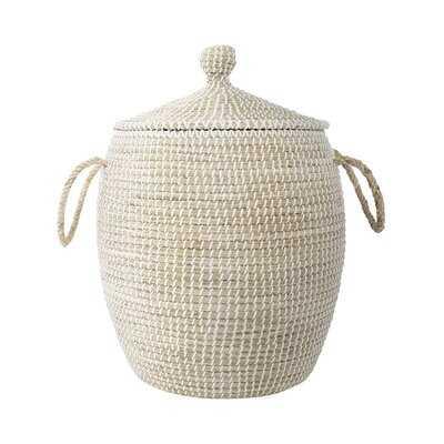 Natural Seagrass Basket - Wayfair