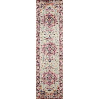 Lorenz Oriental Ivory/Red/Pink Rug - Wayfair