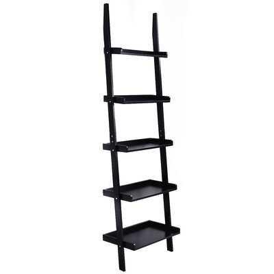 Toughkenamon 74.8'' H x 22'' W Ladder Bookcase - Wayfair