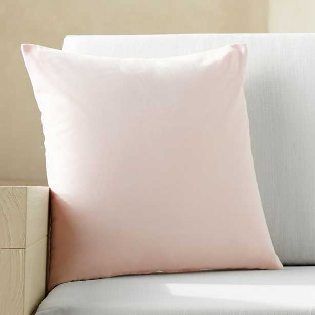 """20""""x20"""" Pink Outdoor Pillow - CB2"""