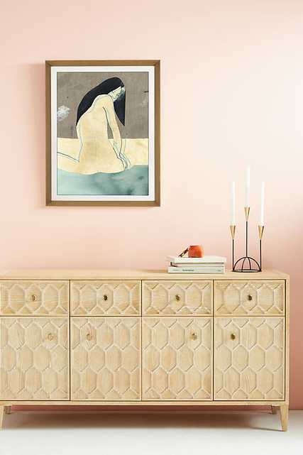 Nudes Wall Art By Anthropologie in Blue Size S - Anthropologie