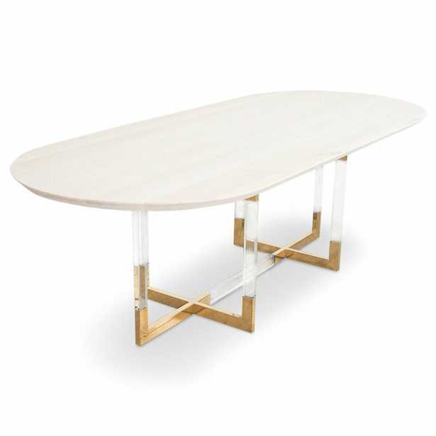 Trousdale Oval Dining Table - Perigold