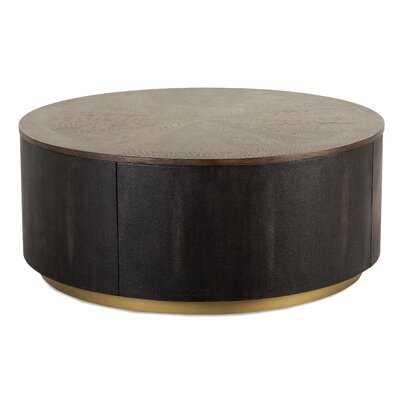 Matsumura Drum Coffee Table - Wayfair