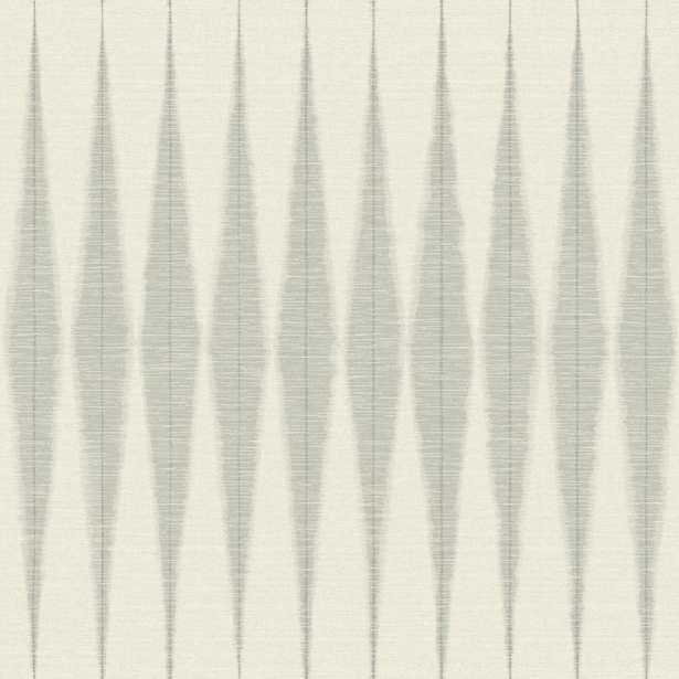 Magnolia Home by Joanna Gaines 34 sq ft Magnolia Home Handloom Peel and Stick Wallpaper, Cool Grey - Home Depot