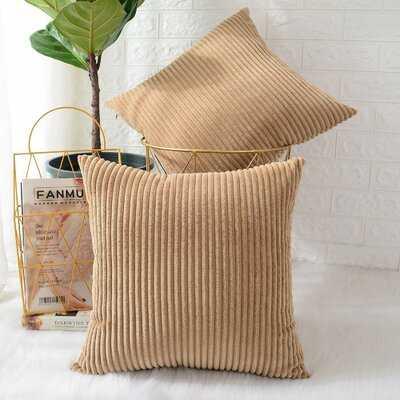 Ayedin Square Throw Pillow Cover - Wayfair