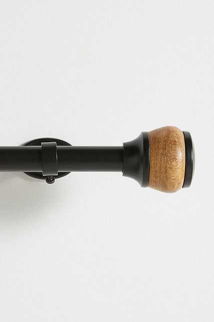 Clifton Curtain Rod By Anthropologie in Black Size M - Anthropologie