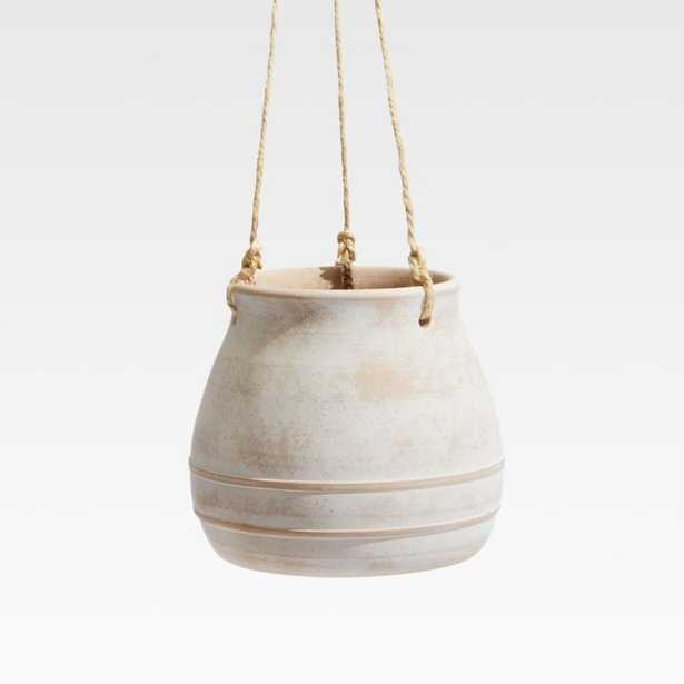 Elvy Small Ceramic Planter - Crate and Barrel